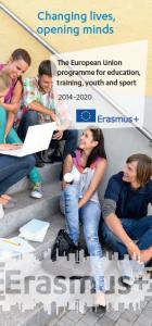 Erasmus+ leaflet